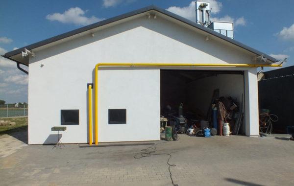 Biogazownia rolnicza w miejscowości Długie  gm. Wąpielsk