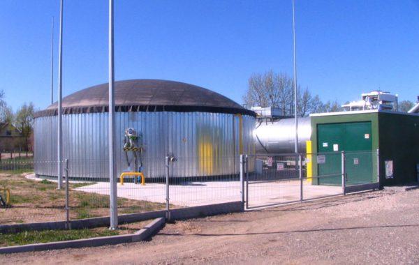 Biogazownia rolnicza w m. Hryniewicze D. gm. Bielsk Podlaski 40 kW